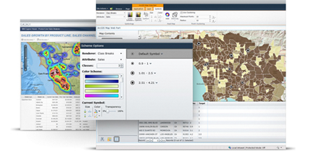 ArcGIS telecommunications web based solutions in ArcGIS Online.