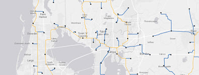ArcGIS telecommunications solution focused on wireline.